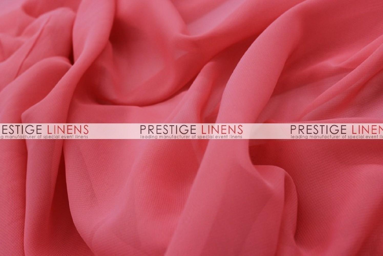 chiffon sash coral prestige linens