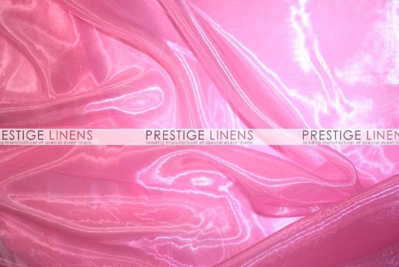 Mirror organza draping 540 bubble gum prestige linens - Salon prestige organza ...