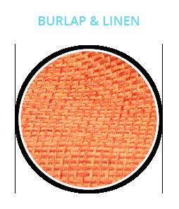 Burlap & Linen Fabrics