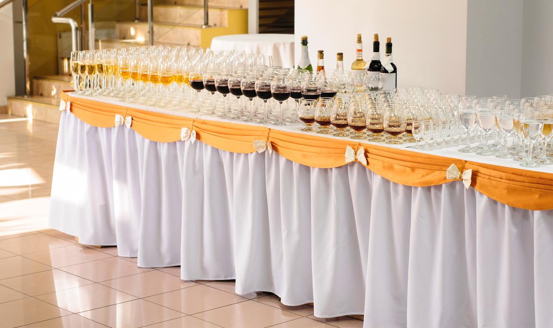 Table skirting prestige linens for Table skirting