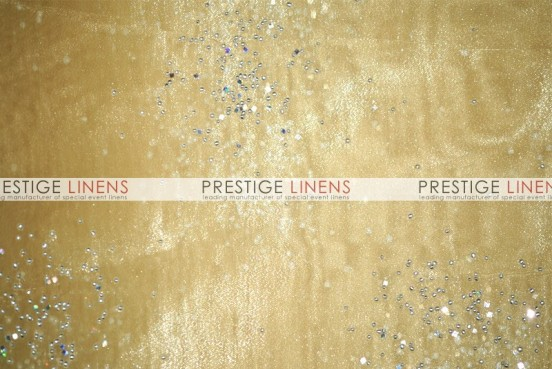 Sparkle Organza Table Runner - 226 Gold
