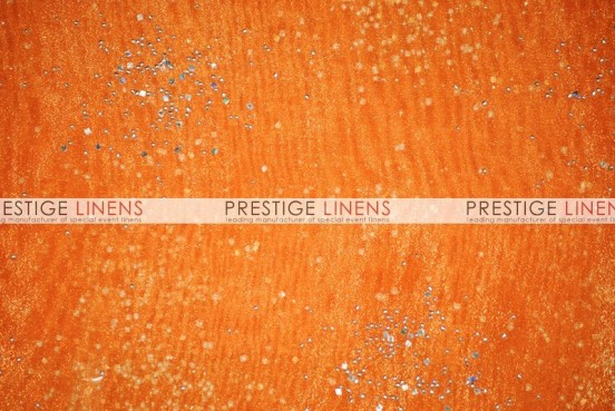 Sparkle Organza Table Runner - 431 Orange