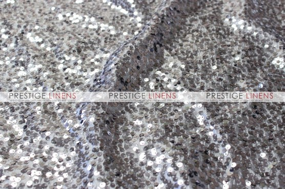 Taffeta Sequins Embroidery Table Runner - Charcoal