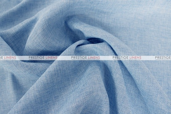 Vintage Linen Table Runner - Baby Blue
