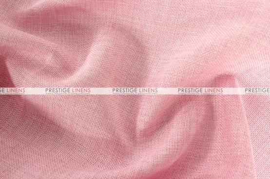 Vintage Linen Table Runner - Pink