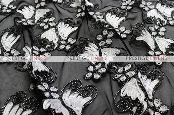 Angelica Chair Caps & Sleeves - Black