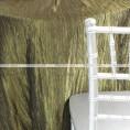 Crushed Taffeta Chair Caps & Sleeves - 830 Olive