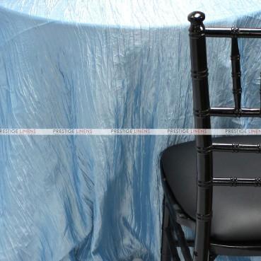 Crushed Taffeta Chair Caps & Sleeves - 926 Baby Blue