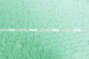 Dazzle Square Sequins Chair Caps & Sleeves - Mint