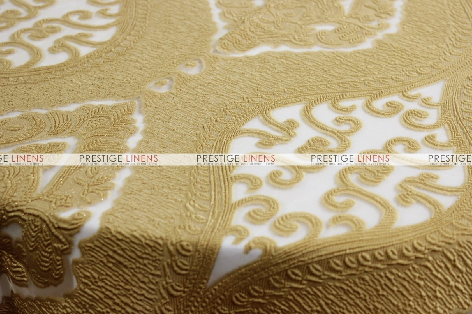 Orange damask chair -  Imperial Damask Chair Caps Sleeves Gold