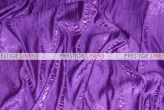 Iridescent Crush Chair Caps & Sleeves - Purple