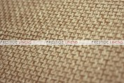 Jute Linen Chair Caps & Sleeves - Jute