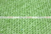 Jute Linen Chair Caps & Sleeves - Lime