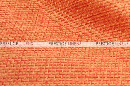 Jute Linen Chair Caps & Sleeves - Orange