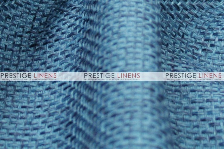 Jute Linen Chair Caps & Sleeves - Slate