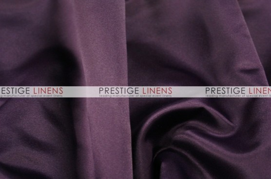 Lamour Matte Satin Chair Caps & Sleeves - 1034 Plum