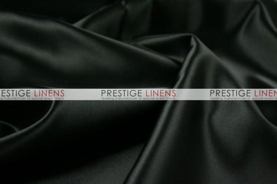 Lamour Matte Satin Chair Caps & Sleeves - 1127 Black