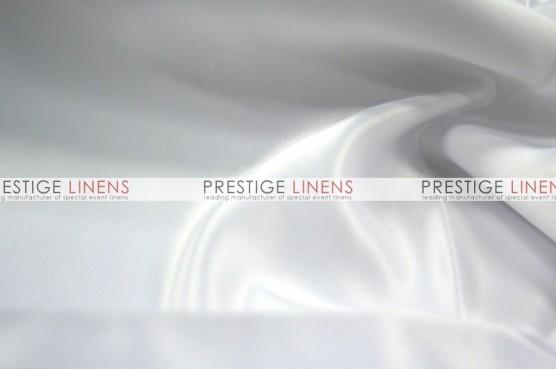 Lamour Matte Satin Chair Caps & Sleeves - 126 White
