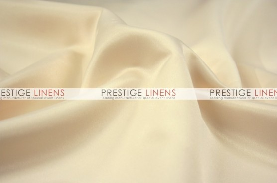 Lamour Matte Satin Chair Caps & Sleeves - 146 Butter