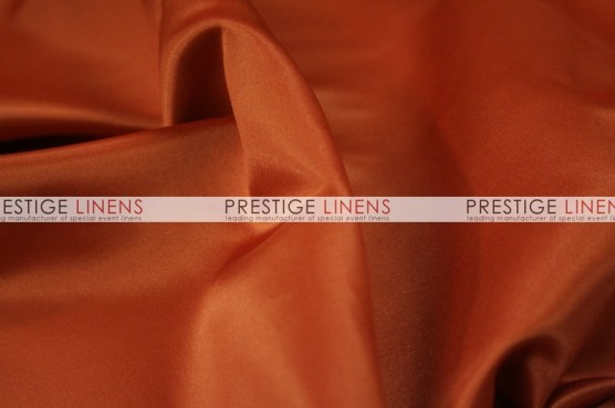 Lamour Matte Satin Chair Caps & Sleeves - 337 Rust