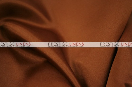 Lamour Matte Satin Chair Caps & Sleeves - 344 M Rust