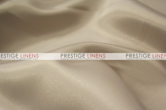 Lamour Matte Satin Chair Caps & Sleeves - 345 Beige