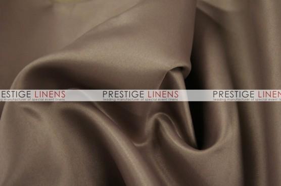 Lamour Matte Satin Chair Caps & Sleeves - 360 Latte