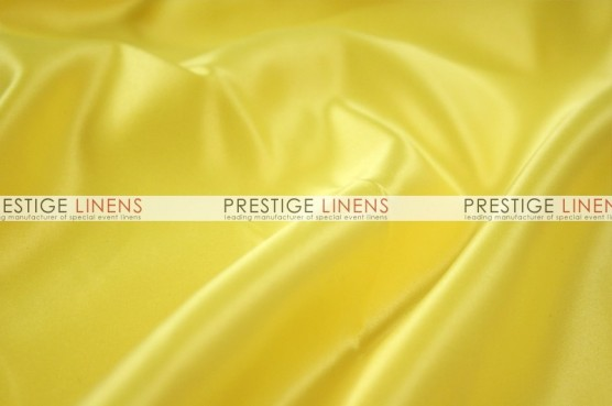 Lamour Matte Satin Chair Caps & Sleeves - 426 Yellow