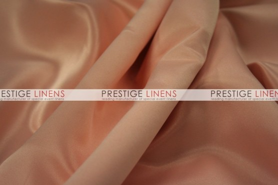 Lamour Matte Satin Chair Caps & Sleeves - 430 Peach