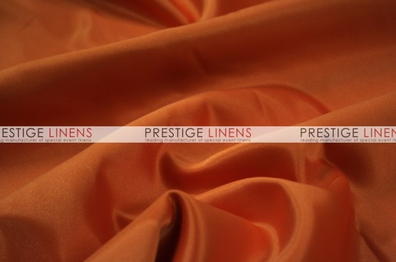 Lamour Matte Satin Chair Caps & Sleeves - 447 Dk Orange