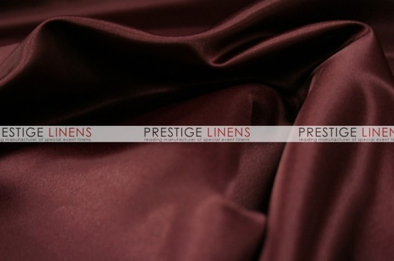 Lamour Matte Satin Chair Caps & Sleeves - 628 Burgundy
