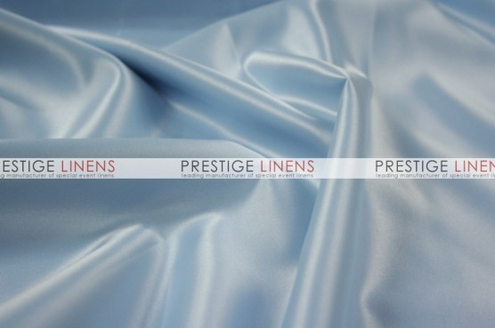 Lamour Matte Satin Chair Caps & Sleeves - 926 Baby Blue