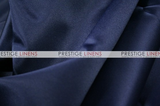 Lamour Matte Satin Chair Caps & Sleeves - 934 Navy