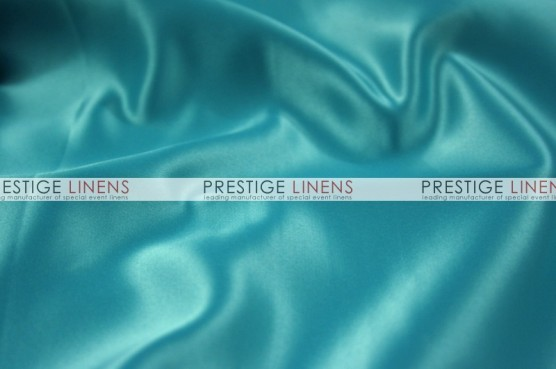Lamour Matte Satin Chair Caps & Sleeves - 953 Chinese Aqua