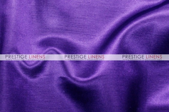 Shantung Satin Chair Caps & Sleeves - 1032 Purple