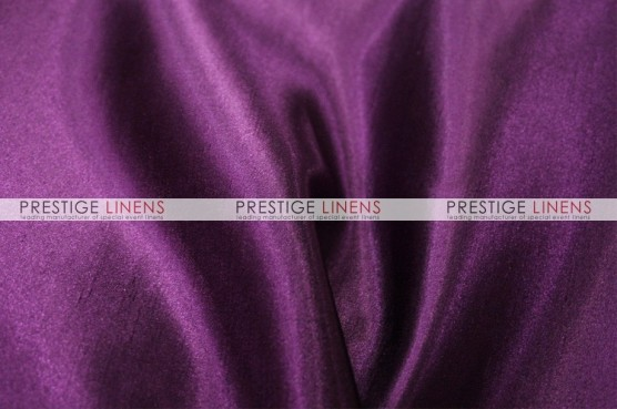Shantung Satin Chair Caps & Sleeves - 1033 Lt Plum