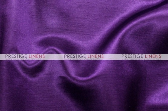 Shantung Satin Chair Caps & Sleeves - 1034 Plum