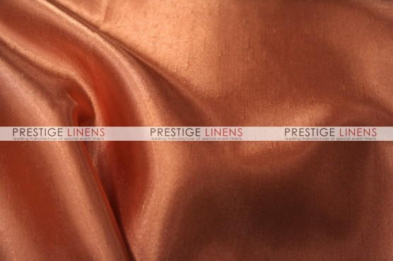 Shantung Satin Chair Caps & Sleeves - 433 Dk Coral