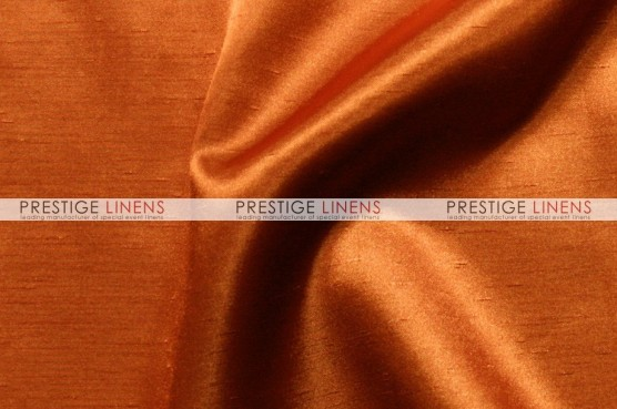 Shantung Satin Chair Caps & Sleeves - 447 Dk Orange