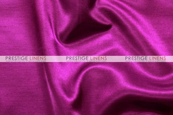 Shantung Satin Chair Caps & Sleeves - 645 Raspberry