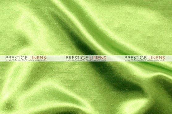 Shantung Satin Chair Caps & Sleeves - 726 Lime
