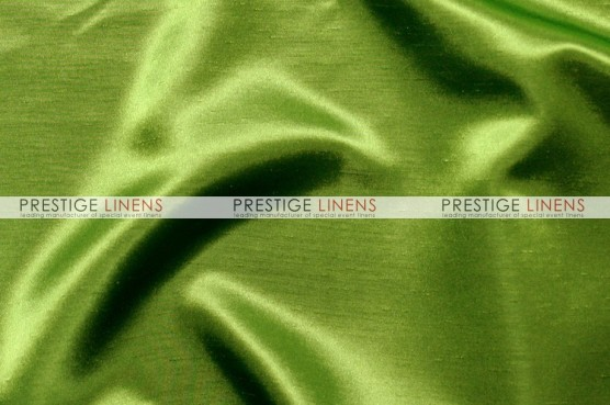Shantung Satin Chair Caps & Sleeves - 737 Apple Green