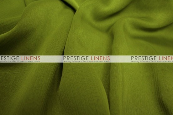 Two Tone Chiffon Chair Caps & Sleeves - Dk Lime