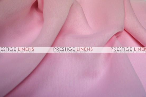 Two Tone Chiffon Chair Caps & Sleeves - Pink