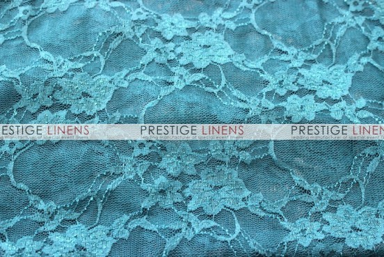 Victorian Stretch Lace Chair Caps & Sleeves - Dk Teal