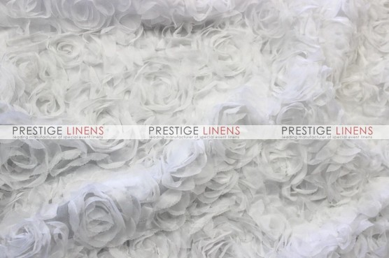 Efflorescent Draping - White