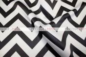 Chevron Print Lamour Pad Cover-Black