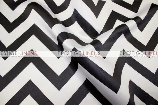 Chevron Print Lamour Pad Cover-Black