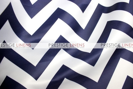 Chevron Print Lamour Pad Cover-Navy