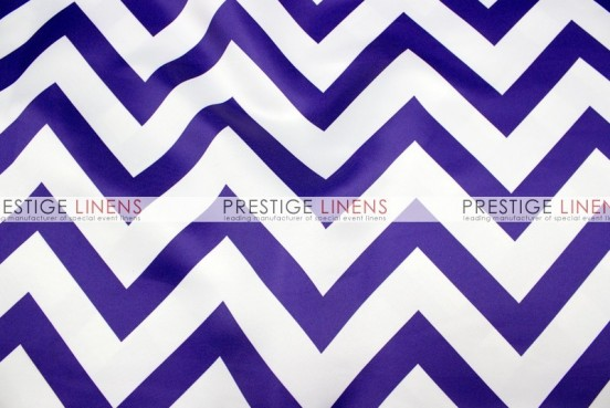 Chevron Print Lamour Pad Cover-Purple
